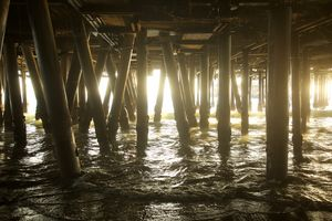 Beneath the Pier