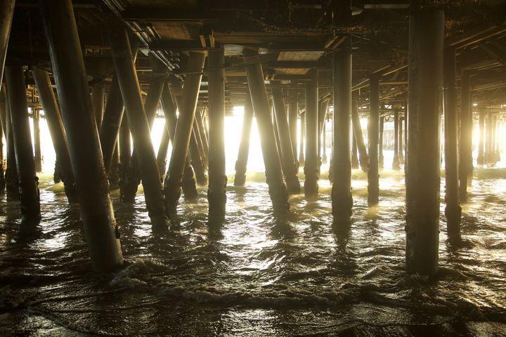 Beneath the Pier - Jon Moore