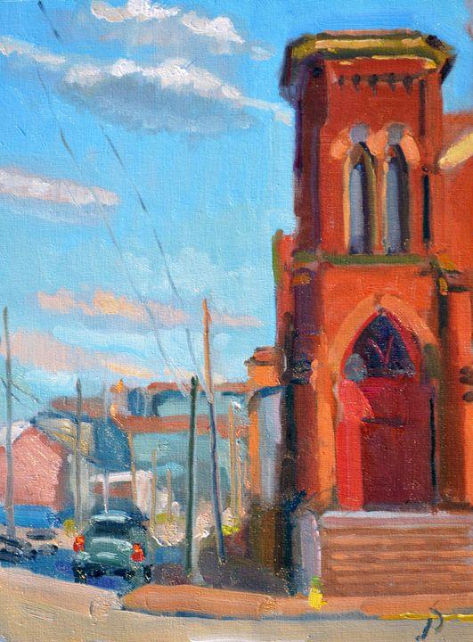 HOLIDAY MEMORIAL AME ZION CHURCH - William Pfahl-Fine Art