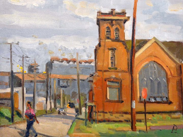 FIRST CHURCH OF GOD IN CHRIST - William Pfahl-Fine Art