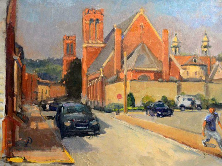 MORNING CLAY STREET - William Pfahl-Fine Art