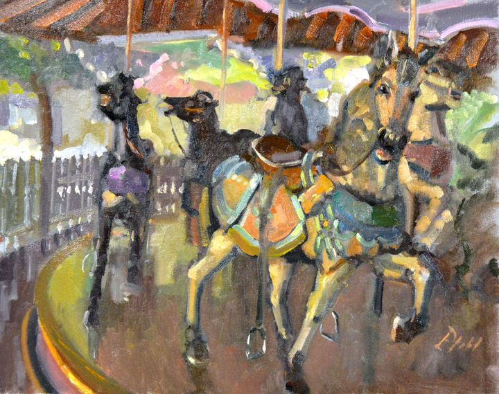 CAROUSEL II. ~ IDLEWILD PARK - William Pfahl-Fine Art