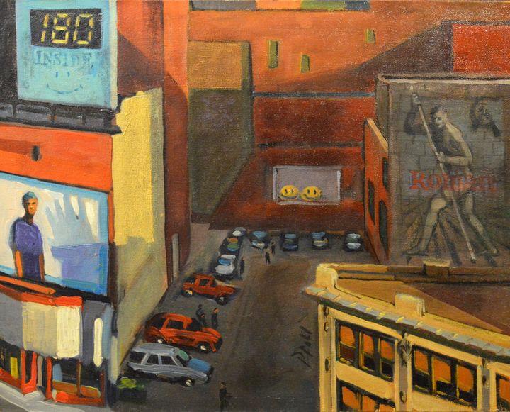 VIEW FROM 6TH ST. GARAGE - William Pfahl-Fine Art