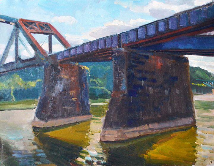 ASPINWALL RIVER FRONT. - William Pfahl-Fine Art