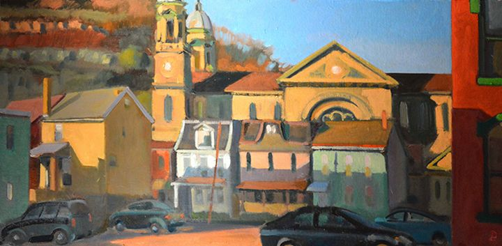 VIEW FROM N. MAIN ST. II - William Pfahl-Fine Art