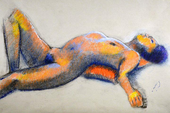 SATURDAY MODEL @ PANZA GALLERY XIV. - William Pfahl-Fine Art