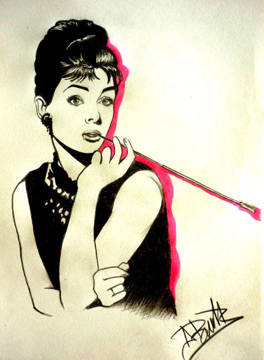 Audrey Hepburn - pinkdiamond