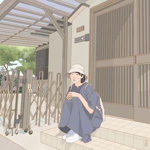Digital painting Korean Style