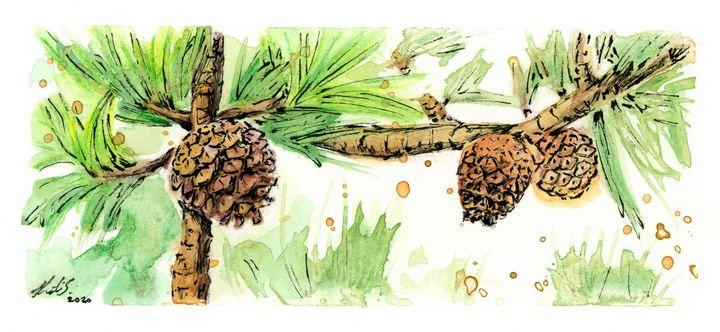 Pinecones - Olive Artistry & Works
