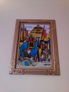 EMPIRE PAINTING (GLASS PAINTING)