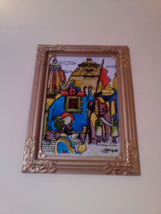 EMPIRE PAINTING (GLASS PAINTING) - KNB ONLINE RETAIL