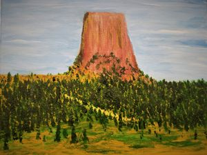 Bear's Tipi (Devil's Tower)