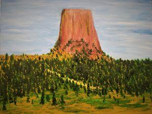 Bear's Tipi (Devil's Tower)