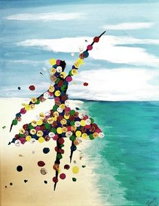 Ballerina Color Dots East
