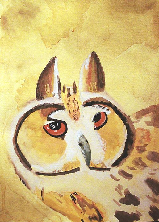 Barn Owl Painting - Vision Dancer