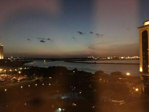 Louisiana night sky