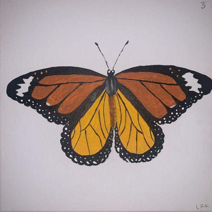 Monarch Butterfly - art by lo