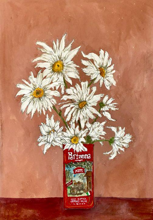Shasta Daisies - Barbara E Wyeth