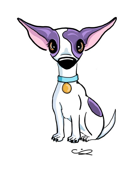 Purple Chihuahua - Chrissy Snyder