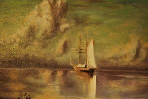 Tribute to I. Aivazovsky