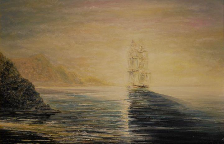 Tribute to I.Aivazovsky (2) - Alexandra Zhurkina