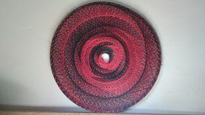Fractal Sting, Original string art - Net of Indra