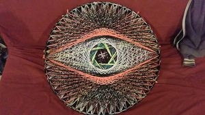 Deveye, Original string art