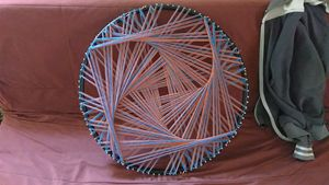 Psquaredelia, Original string art
