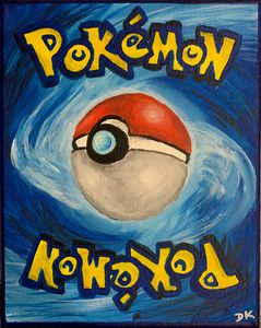 Pokémon Card Original Painting