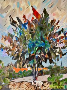 Cat in the Mulberry Tree- Sold USA