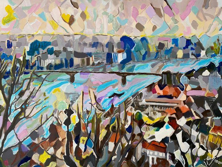 Danube - Ezra Bejar Art Studio