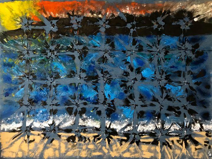 Tornasolado-Original Sold - Ezra Bejar Art Studio