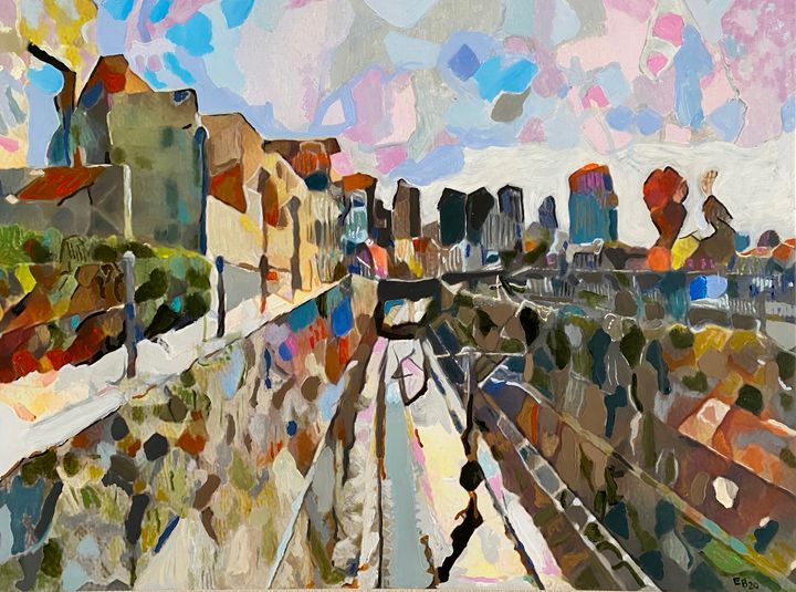 The Journey from the South- Ireland - Ezra Bejar Art Studio