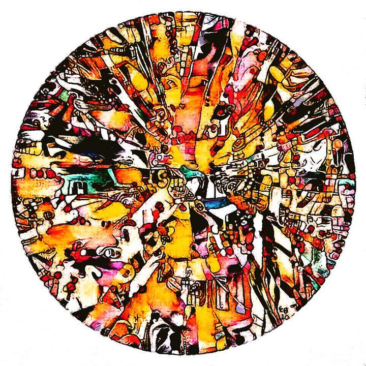 Raices Pictóricas 2 (Pictorial Roots - Ezra Bejar Art Studio