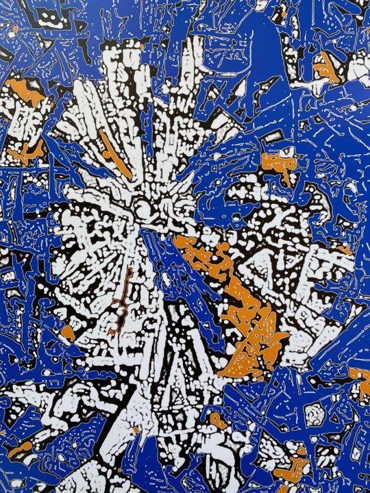 Building Tenochtitlan - Ezra Bejar Art Studio