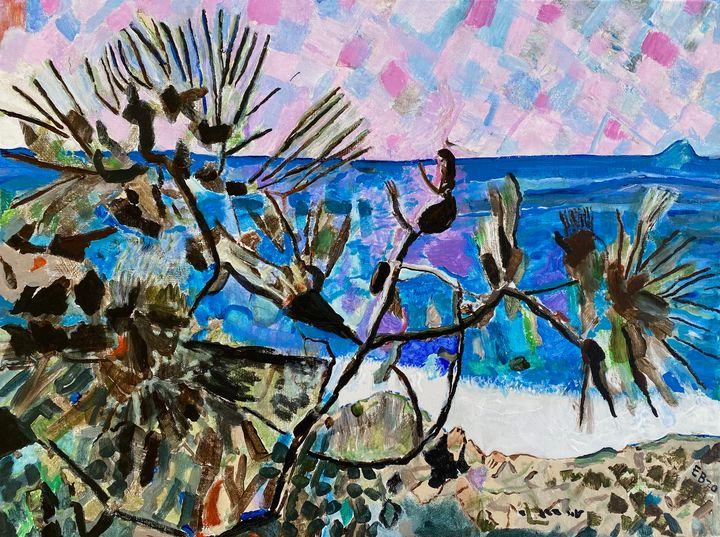 Torrey Pine-Sold in the USA - Ezra Bejar's Art Studio