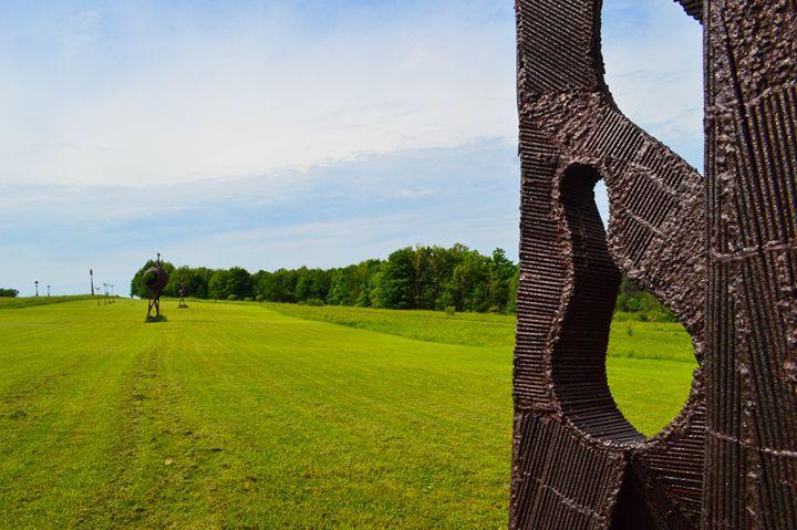 Griffith's Sculpture Park - Miranda Strap