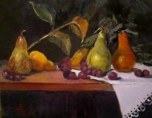 Pear Still Life No. 2