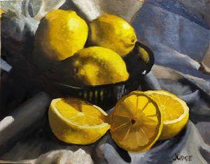 Lemon Still Life