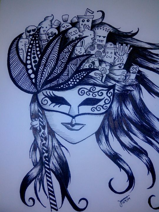 maskara doodle - Joanna T.