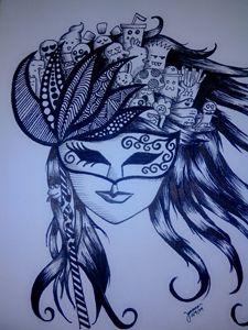 maskara doodle