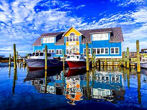 Golden Hour Marina