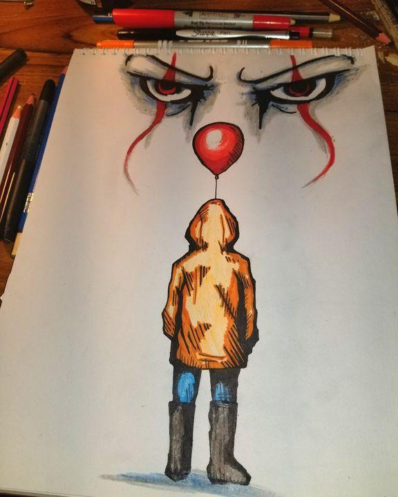 IT The Killer Clown - SickMade World