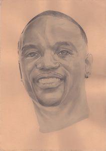 Portrait Akon the Rapper