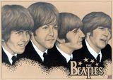 original A4 The Beatles Portrait