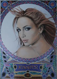 Portrait Jennifer Lopez
