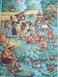 Working in the Bali Ricefields - UniqueCollectionBali,Russian,French&CelebrityPortr