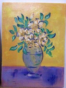 Art work oil painting