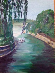 Modern art work oil painting
