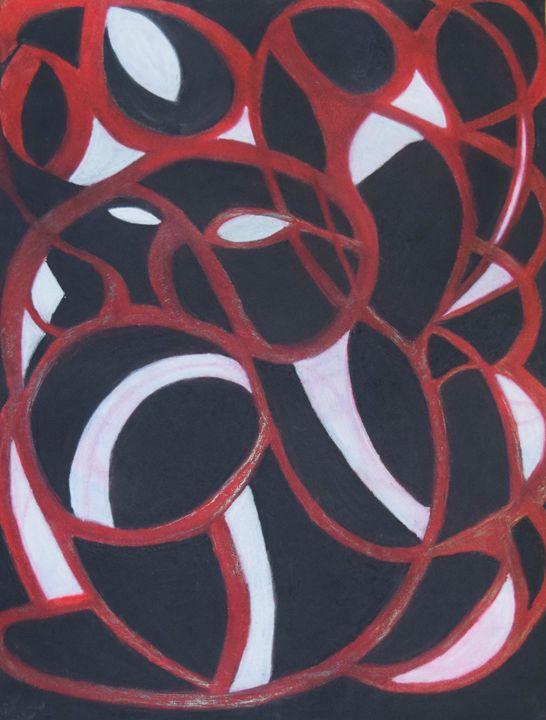 My Heart in Spirals - Amore Art